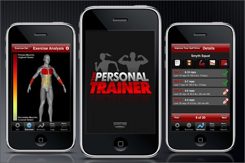THI Personal Trainer Lite screenshot-0