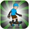 目抜き通りスケートボードレーススケータージャンプアドベンチャー無料