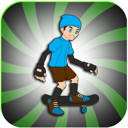 City Street Skateboard Race Skater Jumping Adventure Free