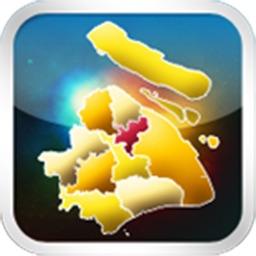 上海区县地图HD