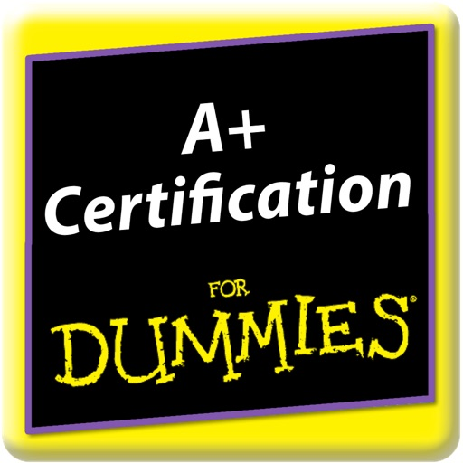 CompTIA A+ Certification Practice For Dummies icon