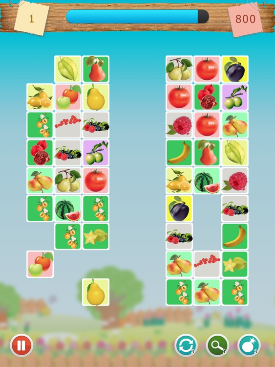 Cheerful Fruit Link Dots HD: Flow&A Game About Connecting