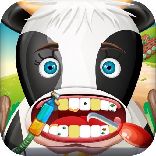 A Farm Animal Happy Dentist Day icon