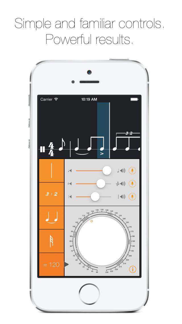 Rhythm Calculator - Advanced rhythm trainer and metronome screenshot two