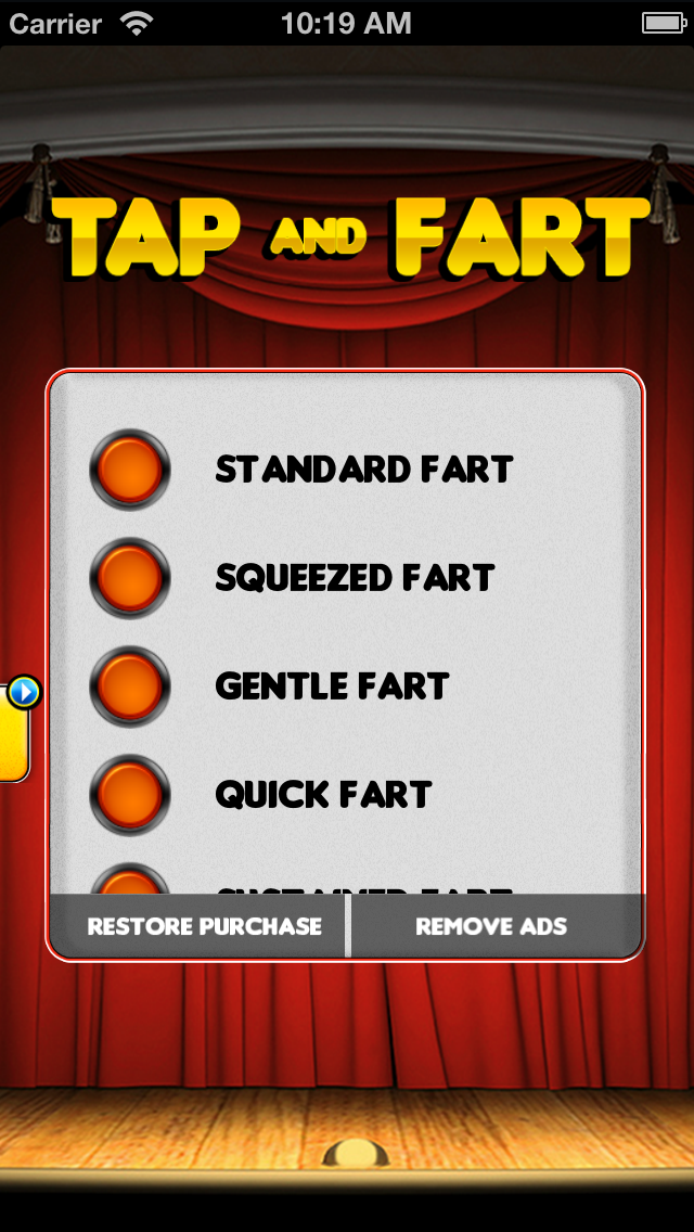 Tap & Fart - Fart noise & prank soundboard machine Screenshot