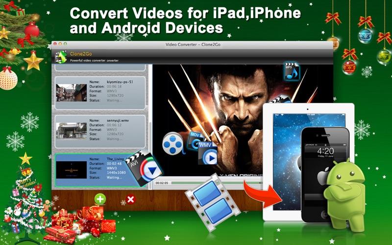 Clone2go Video Converter Screenshot