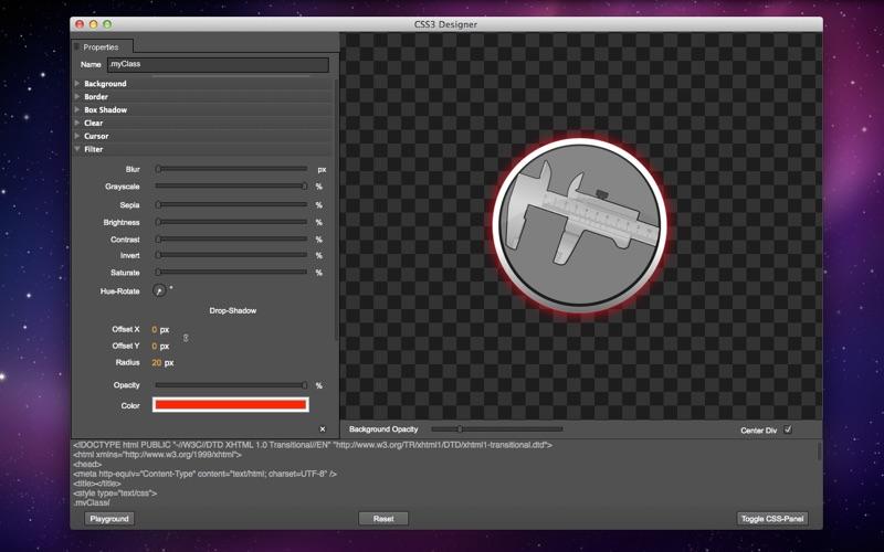 CSS3Designer скриншот программы 2