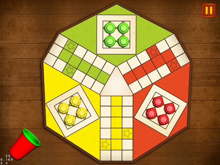 Ludo Simple HD Dice Board Game for Family Kids