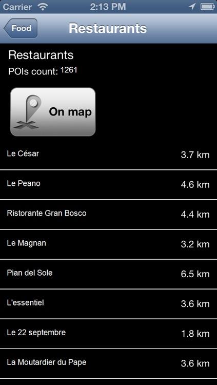 Provence Alpes Cote D Azur Map - PLACE STARS screenshot-3
