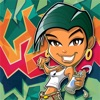 Teen Graffiti Jump Craze - Escape From the Burning Building Challenge