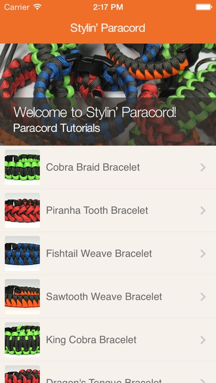 Stylin' Paracord screenshot-0
