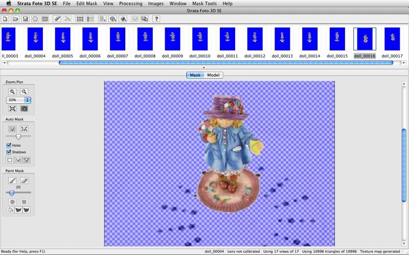 Strata Foto 3D SE скриншот программы 5