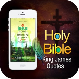 100 Top King James Holy Bible Quotes For Daily Usage in Wallpaper, Lock Screen & Background Share with Facebook and Mail Your Friends