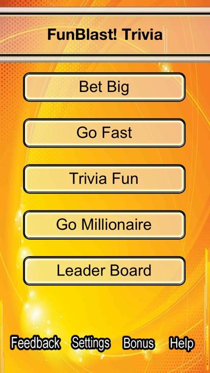 Funblast! Trivia