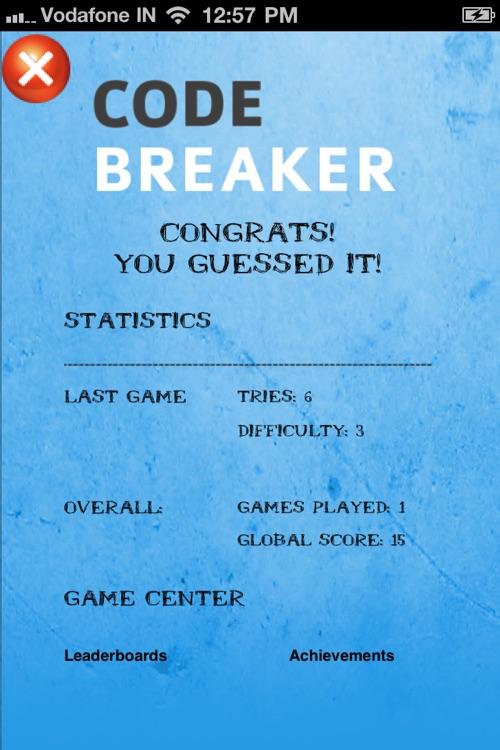 Puzzle Game Free Code Breaker screenshot-4