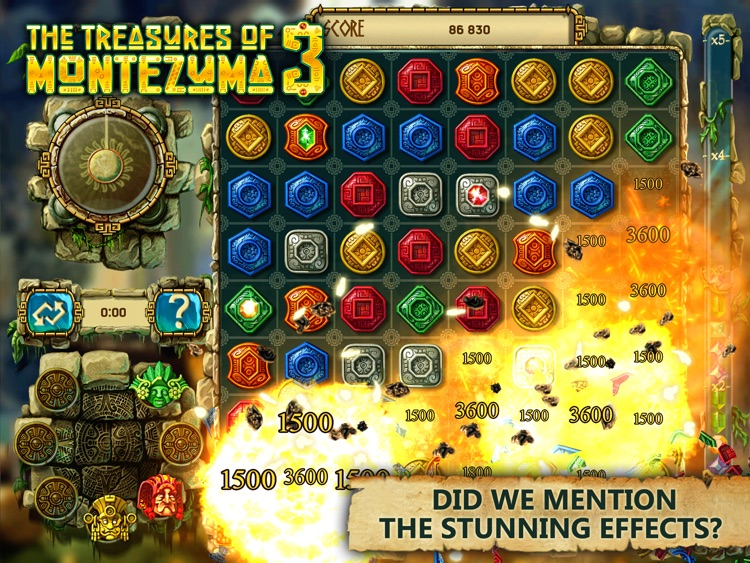 The Treasures of Montezuma 3 HD Free screenshot-3