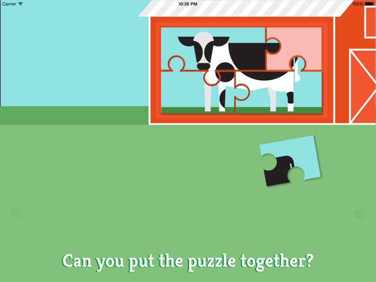 Preschool Farm Fun - Teach your child colors, counting, shapes and puzzles using yummy Vegetables! screenshot-3