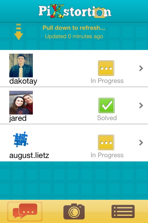 Pixstortion Puzzle Chat screenshot-0