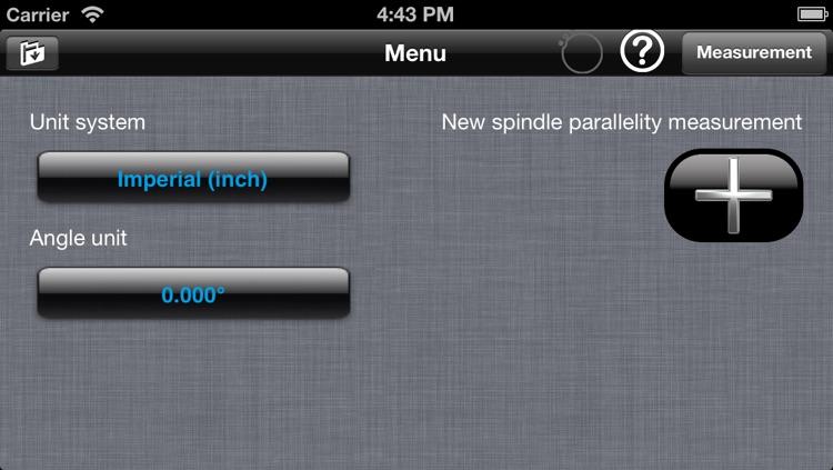 Spindle Parallelism for ALiSENSOR™ Level screenshot-4