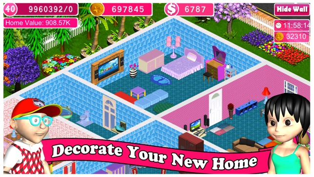 Home design dream house on the app store for Design your dream house