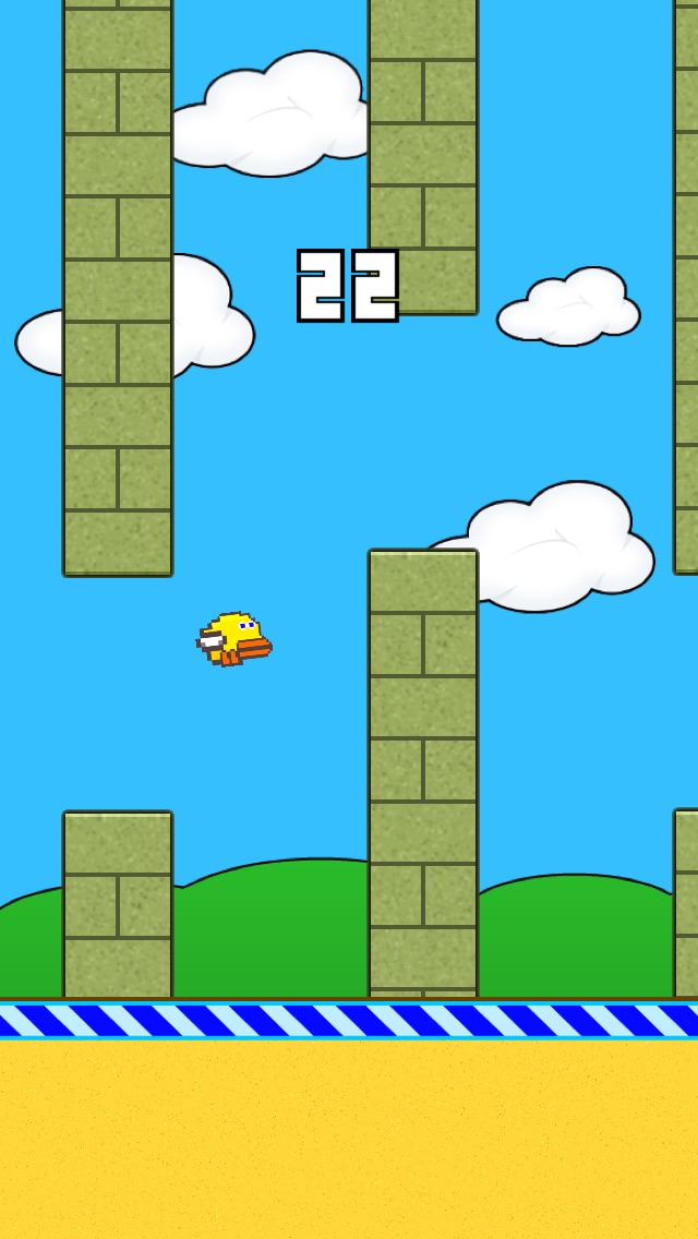 Flappy Duck - Fly Like a Duck!