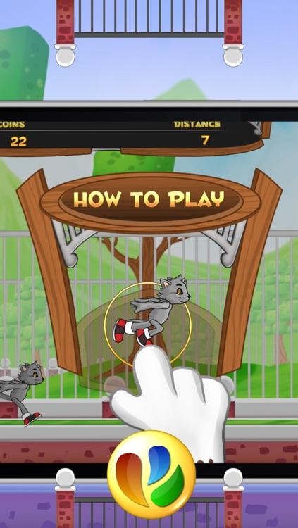 Animal Jump and Run - Free Fun Pet Game screenshot-4