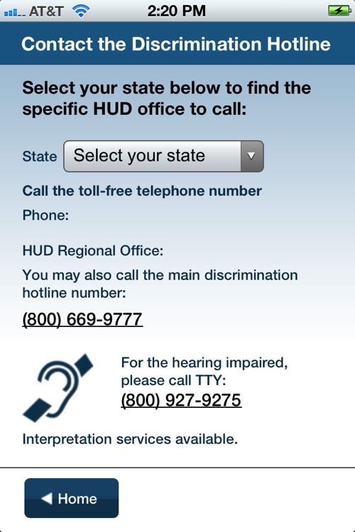 Hud Housing Application