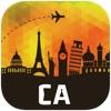 カナダ オフラインマップ、ガイド。ホテル、天候、旅行 トロント,バンクーバー,モントリオール,オタワ