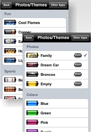 Battery App Pro with Themes & Photo Import screenshot-4