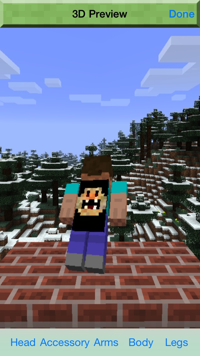 Cape Creator Pro Editor for Minecraft Game Textures Skin Screenshot