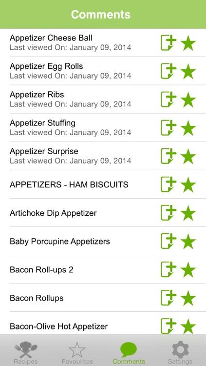 Appetizers Recipes screenshot-4