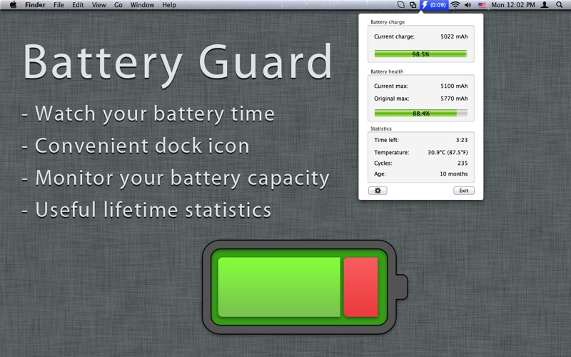 Battery Guard Screenshot