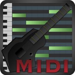 MIDI Fretboard - Guitar, Bass, Ukulele, Banjo, Shamisen, Sanshin, Oud, Pipa Controller