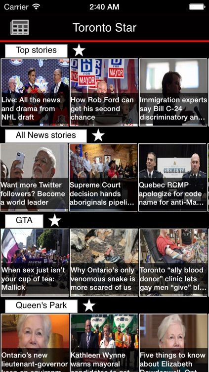 Canadian Newspapers Plus - Canada News by sunflowerapps