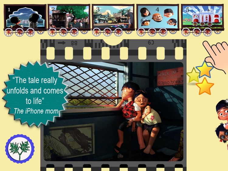 The Amazing Train- Interactive Storybook for Kids screenshot-1