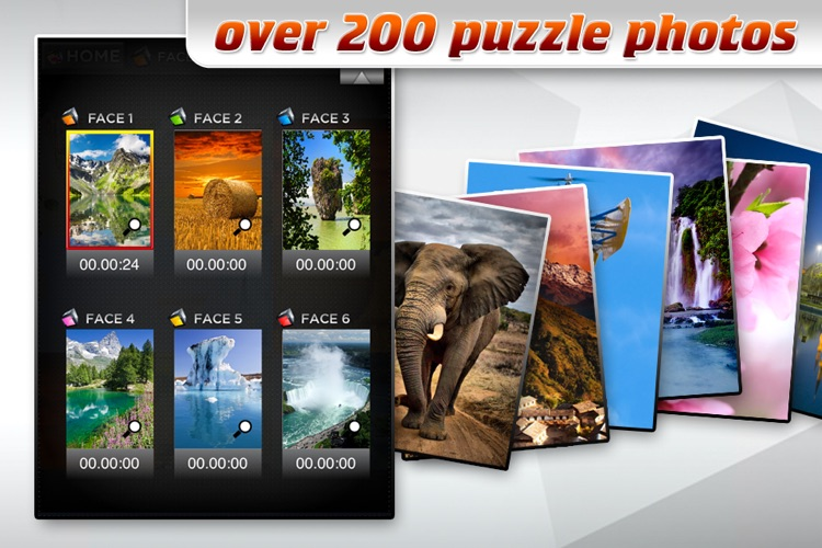 3D Cube Photo Puzzle screenshot-3