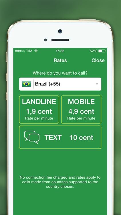 CallToBrazil: Cheap Calls to Brazil screenshot-3