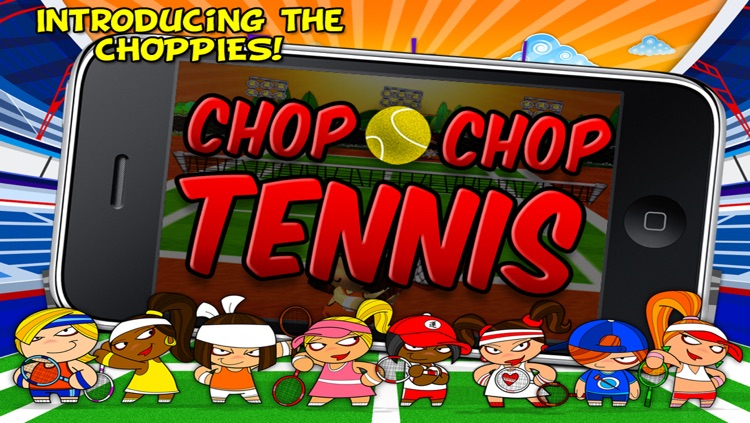 Chop Chop Tennis screenshot-4