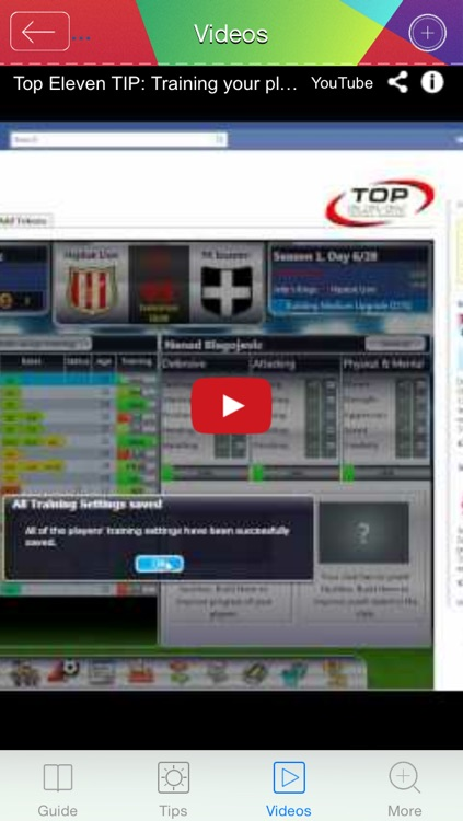 Guide for Top Eleven screenshot-4