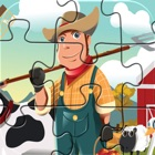 Farm And Animals Puzzles  - Jigsaw puzzle for children