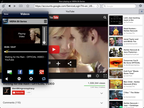 Video Browser for Panasonic Smart Viera TV by ZappoTV, Inc