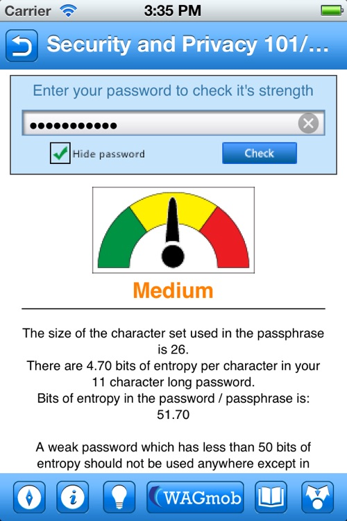Security and Privacy 101 by WAGmob screenshot-4