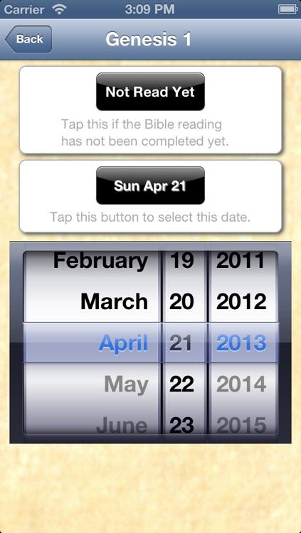 Bible Reading Scheduler screenshot-3