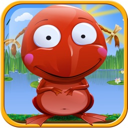 Go Frog Go - Jack the Tiny Red Jumpy Frog vs. Hoppy Insects