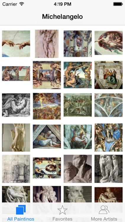 Michelangelo 133 Works HD 100M+  Ad-free