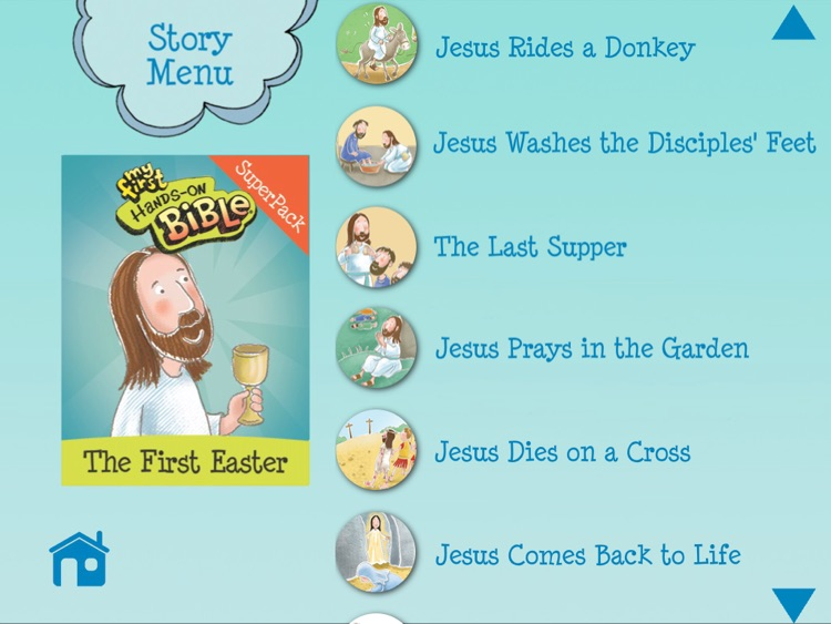 My First Hands-On Bible: The First Easter