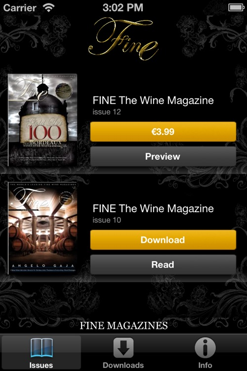 FINE The Wine Magazine