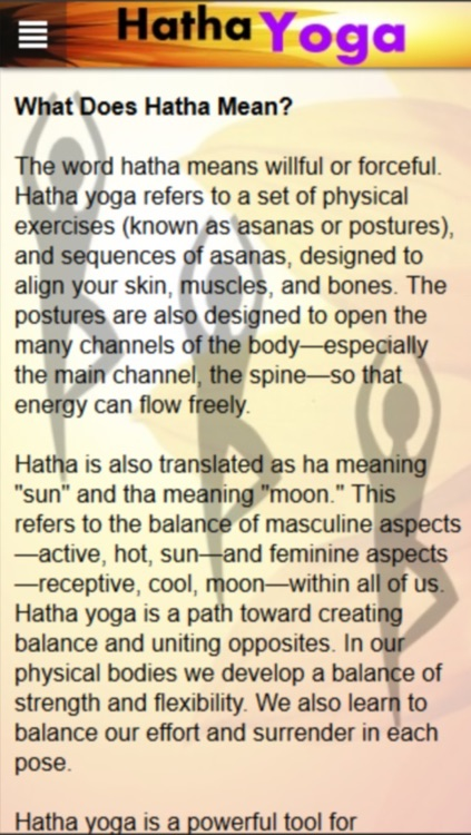 Hatha Yoga - Modern Freestyle screenshot-4
