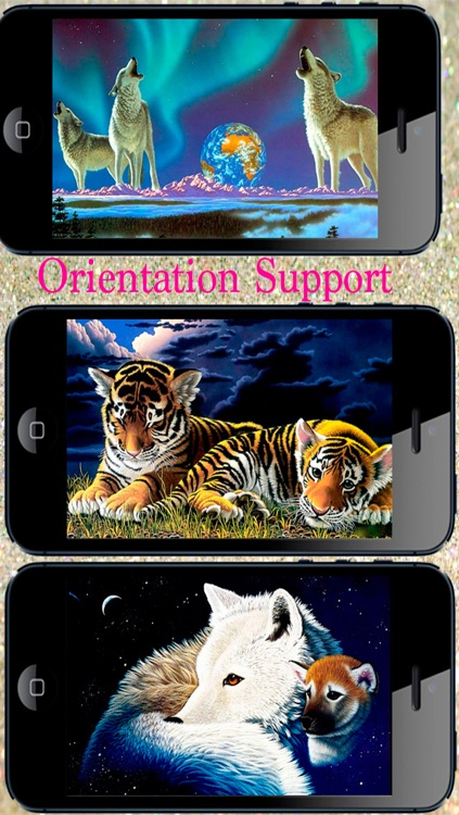 Fantasy Backgrounds for iPhone, iPad and iPod touch screenshot-4