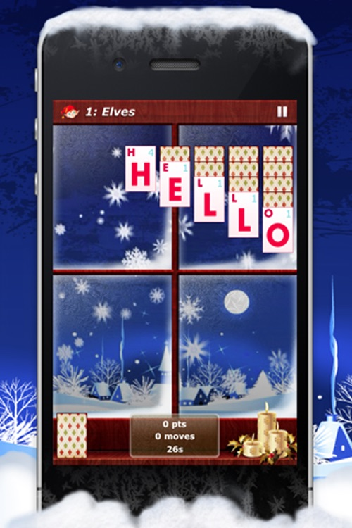 Word Solitaire: Holiday screenshot-3
